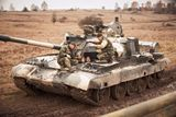 Jízda v bojovém tanku