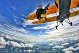 Tandemový seskok z letadla