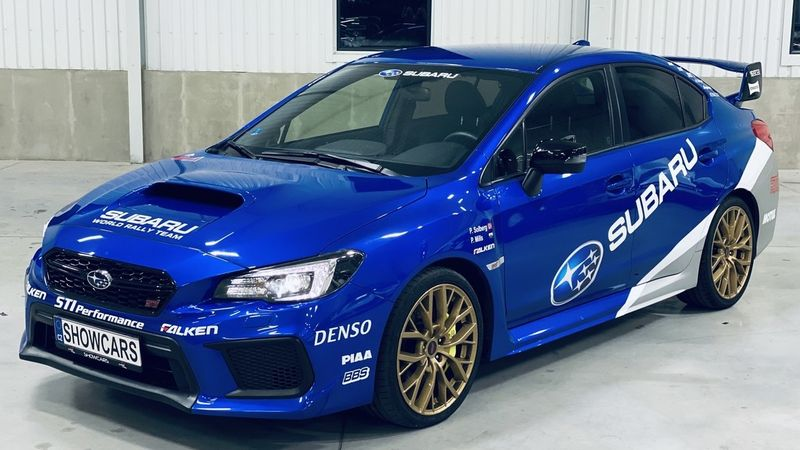 Jízda Rallye Challenge v Subaru Impreza