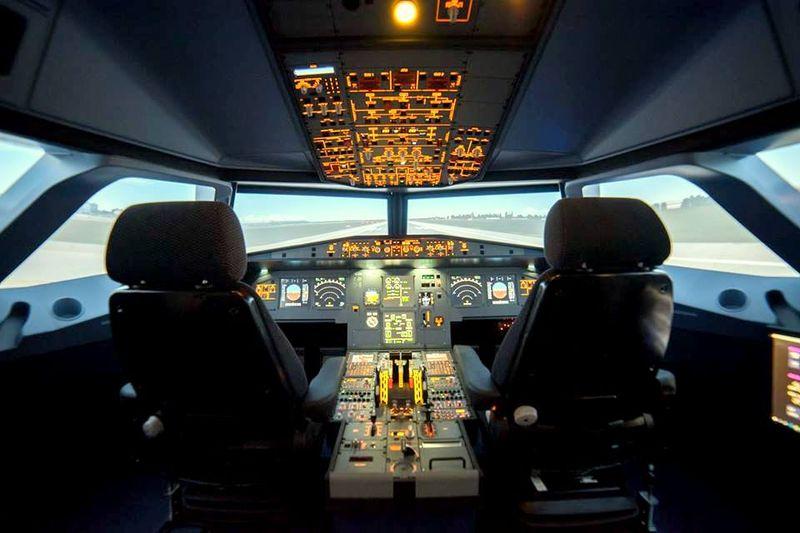 Simulátor Airbusu A320