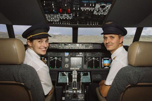 Simulátor Boeingu ve vinném sklípku